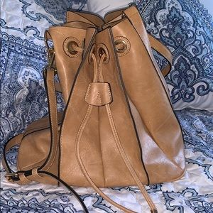 Hobo bag with matching insert
